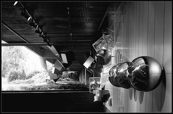 "фото ""Gulbenkian - a point of view"" метки: архитектура, черно-белые, пейзаж,"