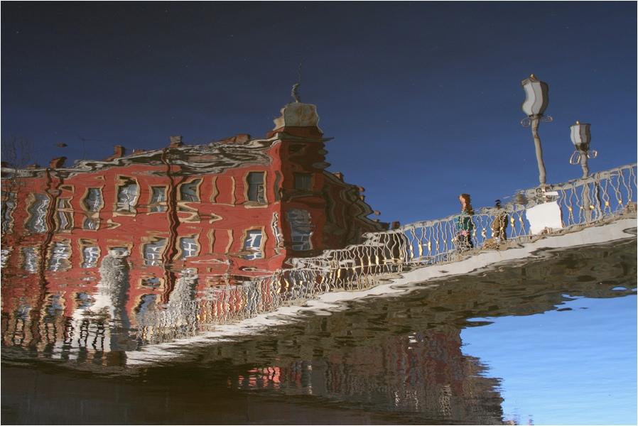 "фото ""Кривое зеркало 2"" метки: город, архитектура, пейзаж,"