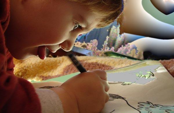"фото ""alice in wonderland"" метки: портрет, фотомонтаж, дети"
