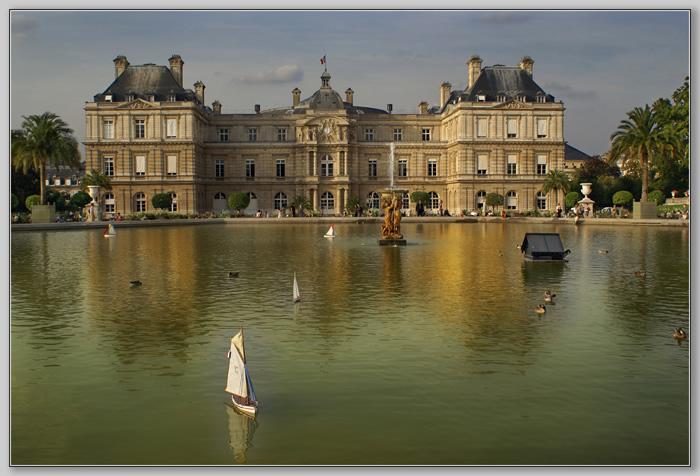 "фото ""Paris. Le Jardin du Luxembourg 3"" метки: архитектура, путешествия, пейзаж, Европа"