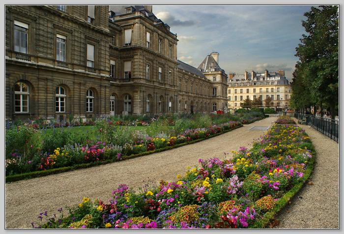 "фото ""Paris. Le Jardin du Luxembourg 2"" метки: архитектура, путешествия, пейзаж, Европа"