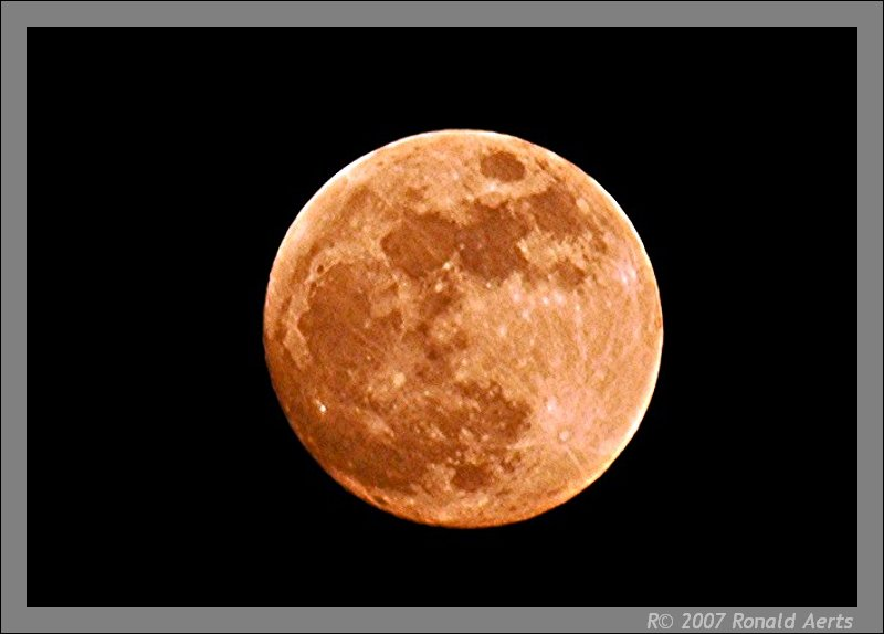 """фото """"Do you believe, there is a man on the moon?"""" метки: природа,"""