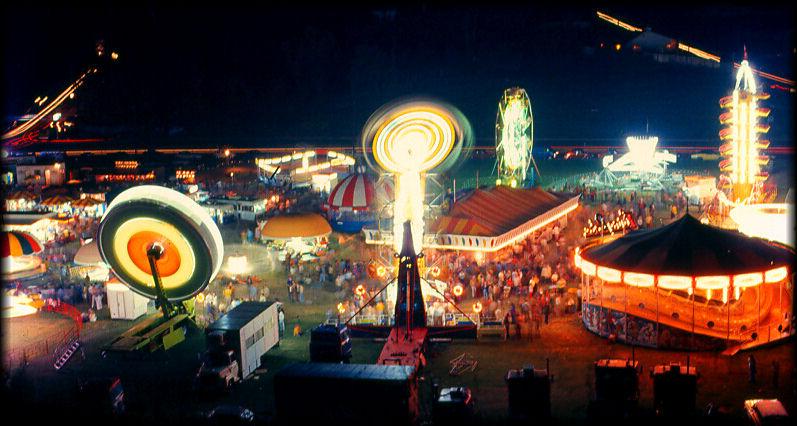 """фото """"Carnival Midway"""" метки: пейзаж, ночь"""