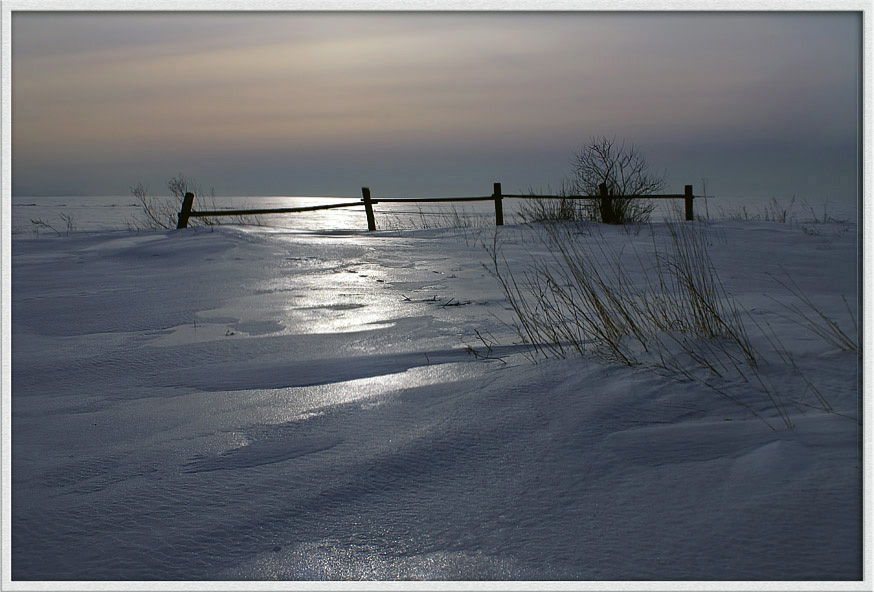 "photo ""Sunlight"" tags: landscape, winter"