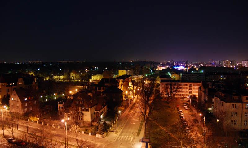 "фото ""Wroclaw by night"" метки: пейзаж, ночь"