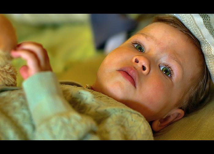 "photo ""Eyes Green"" tags: portrait, children"