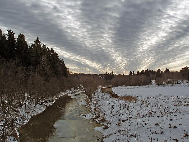 """фото """"Сказка о приклеенном небе"""" метки: пейзаж, весна, облака"""