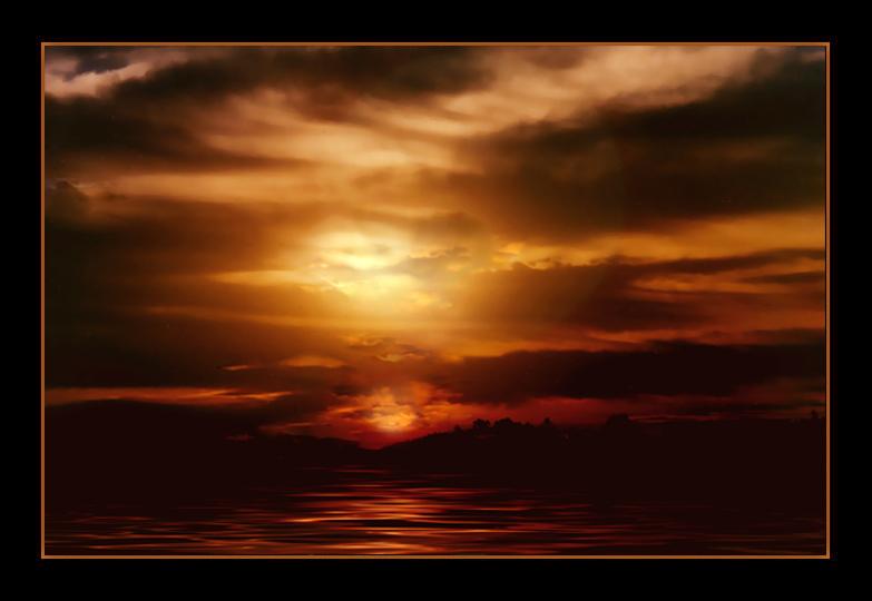 "фото ""Le Crepuscule Des Dieux"" метки: пейзаж, ночь"