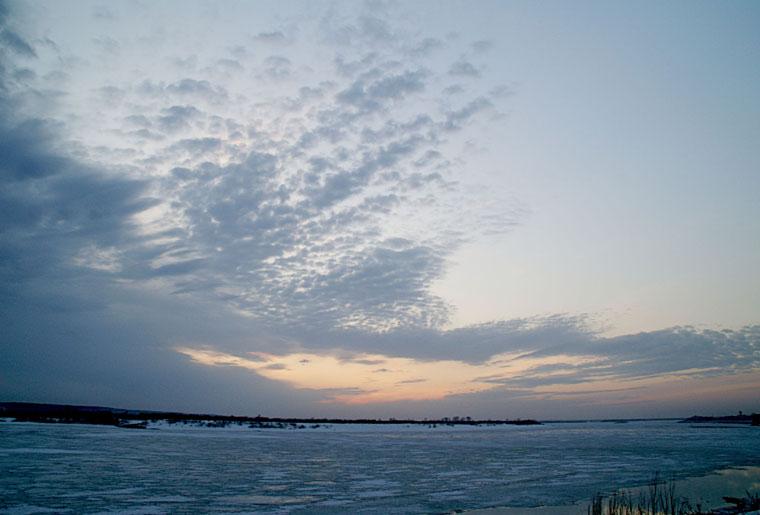 "photo ""Sunset"" tags: landscape, clouds, sunset"