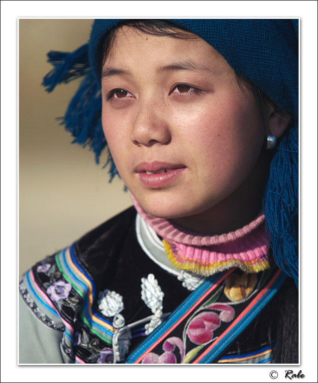 "photo ""China minority"" tags: portrait,"