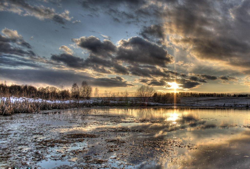 """фото """"Уesterday..."""" метки: пейзаж, вода, закат"""