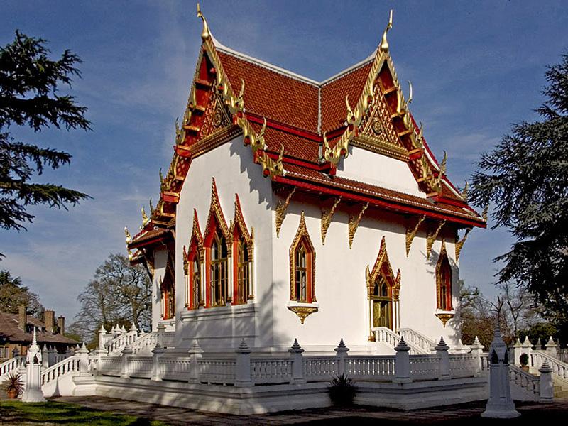 "photo ""Buddhapadipada Thai Temple"" tags: still life,"