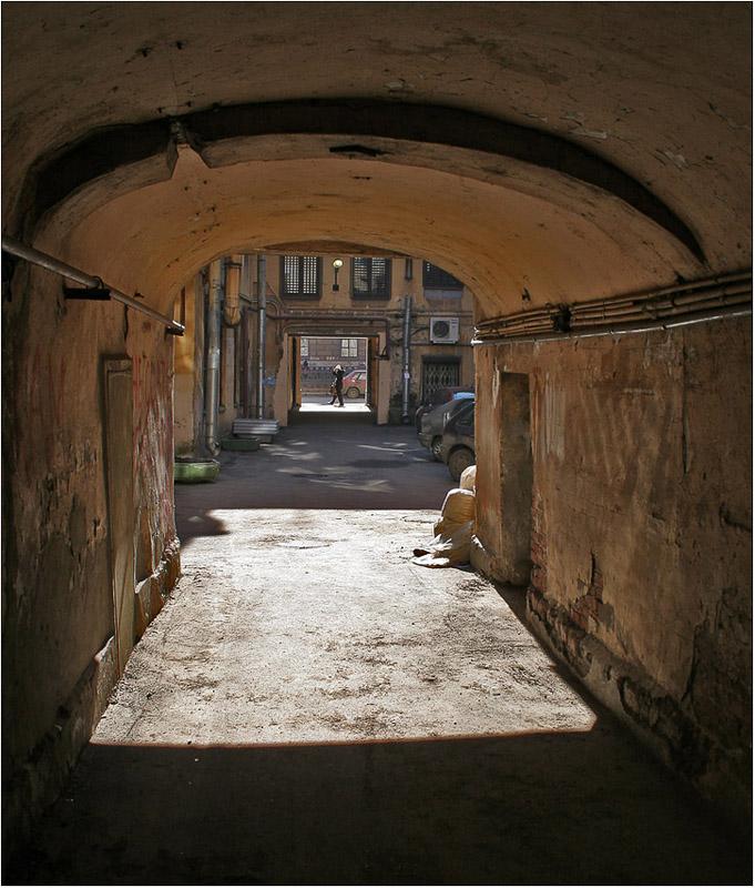 """фото """"Солнце в арке"""" метки: архитектура, пейзаж,"""