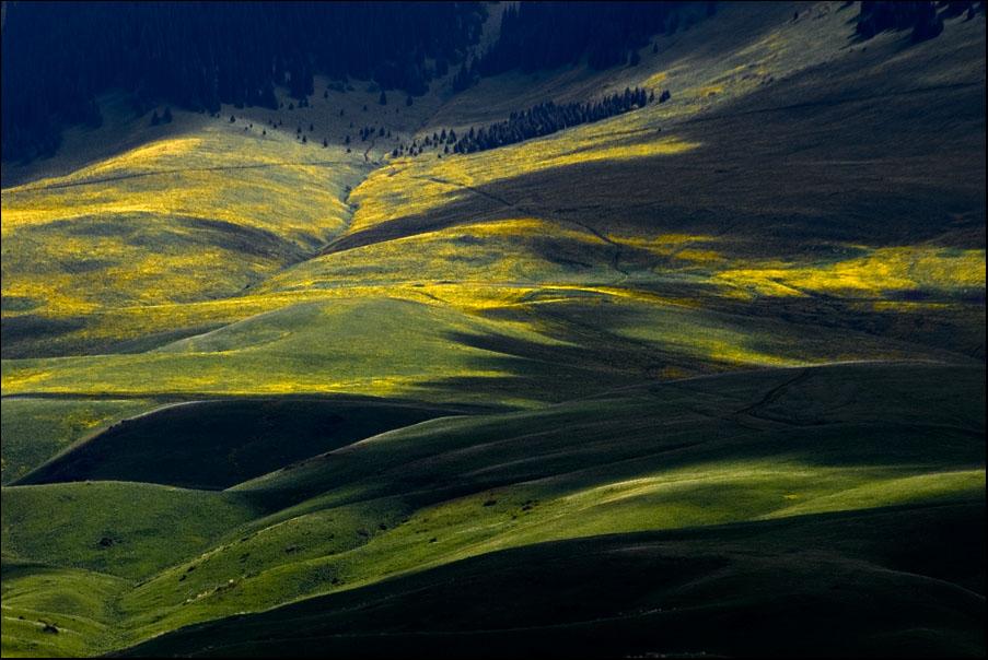 "фото ""облака на джайляу"" метки: пейзаж, весна, горы"