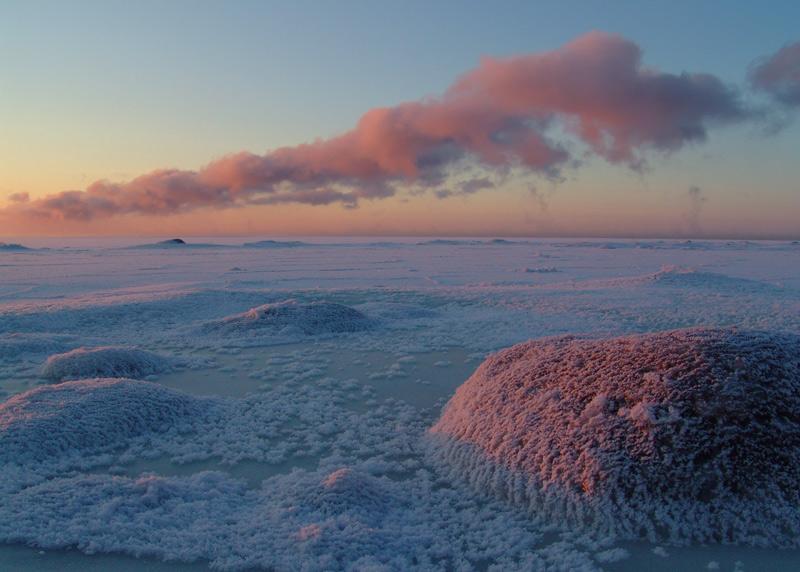 """фото """"балтийские вечера (2)"""" метки: пейзаж, закат, зима"""