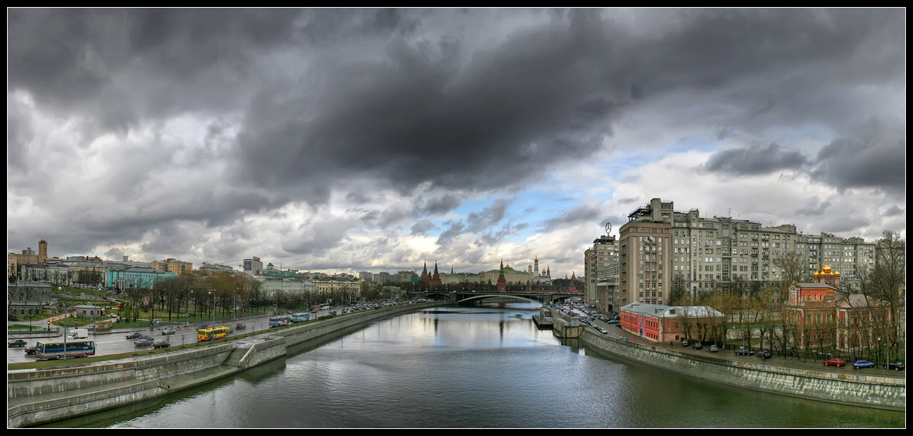 """photo """"Spring. Click on photo, please"""" tags: panoramic, city,"""