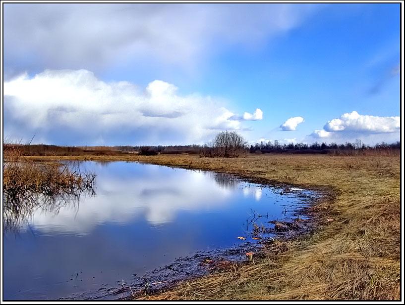 """фото """"Холодная и сухая весна."""" метки: пейзаж, весна"""