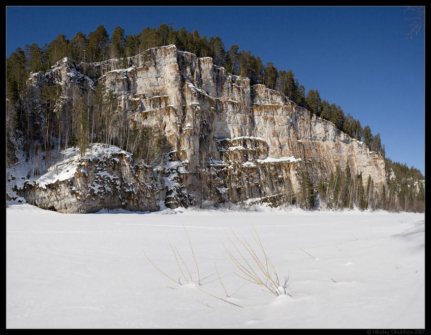"""photo """"Dyrovaty (Hole) Stone Rock / 168_0052-0054"""" tags: landscape, mountains, rocks, spring"""