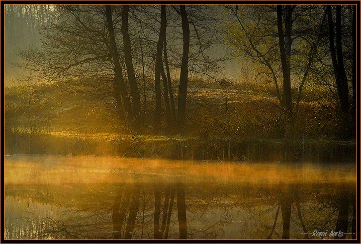 """фото """"thoughtful morning"""" метки: пейзаж, весна, закат"""