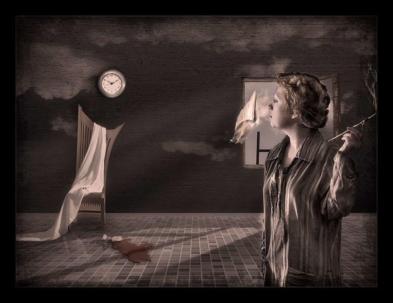 "фото ""Strange Morning"" метки: фотомонтаж, абстракция,"