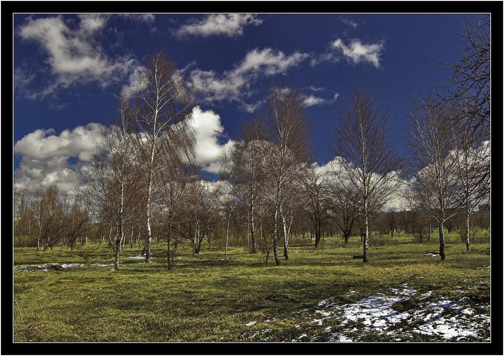 """фото """"Пасхальный снег"""" метки: пейзаж,"""