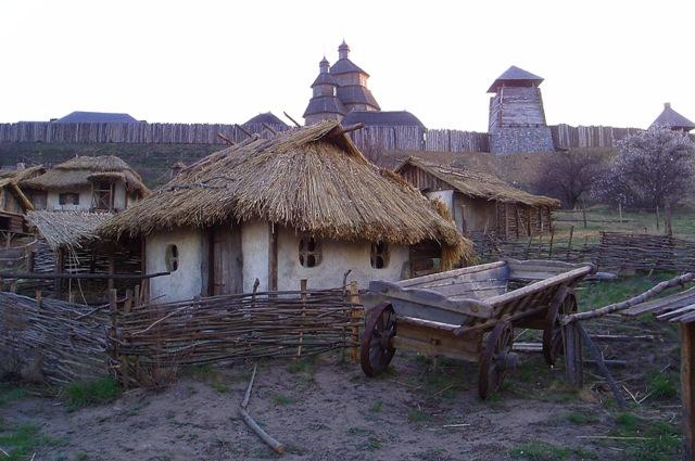 """фото """"Українське село"""" метки: архитектура, пейзаж,"""