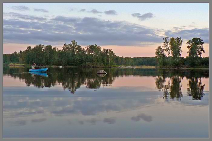 "фото ""Спокойствие"" метки: пейзаж, вода, облака"