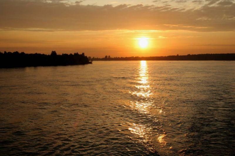 """фото """"Закат на Неве"""" метки: пейзаж, закат, ночь"""
