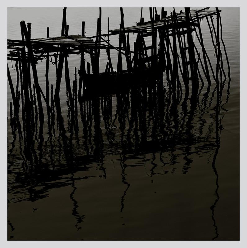 """фото """"wharf scenes #1"""" метки: черно-белые,"""
