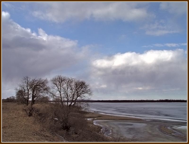 "фото ""Весна на Зее"" метки: пейзаж, весна, вода"