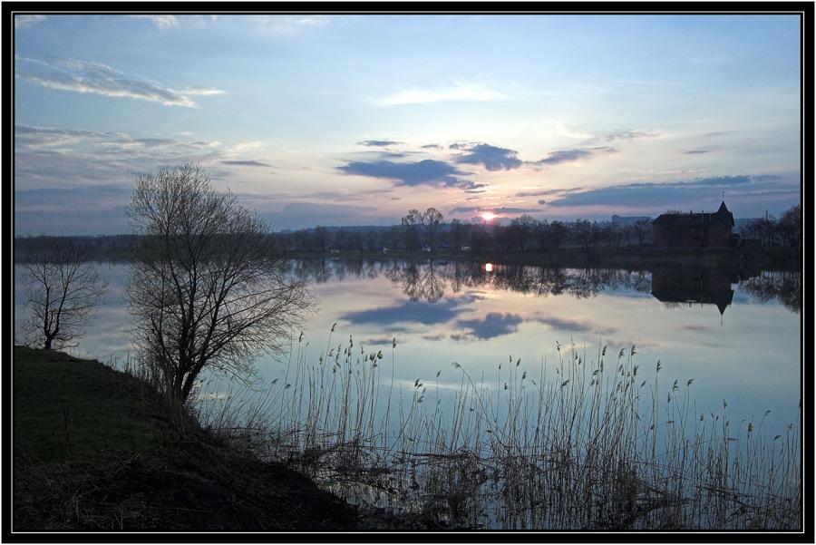 """фото """"Апрель"""" метки: пейзаж, закат"""