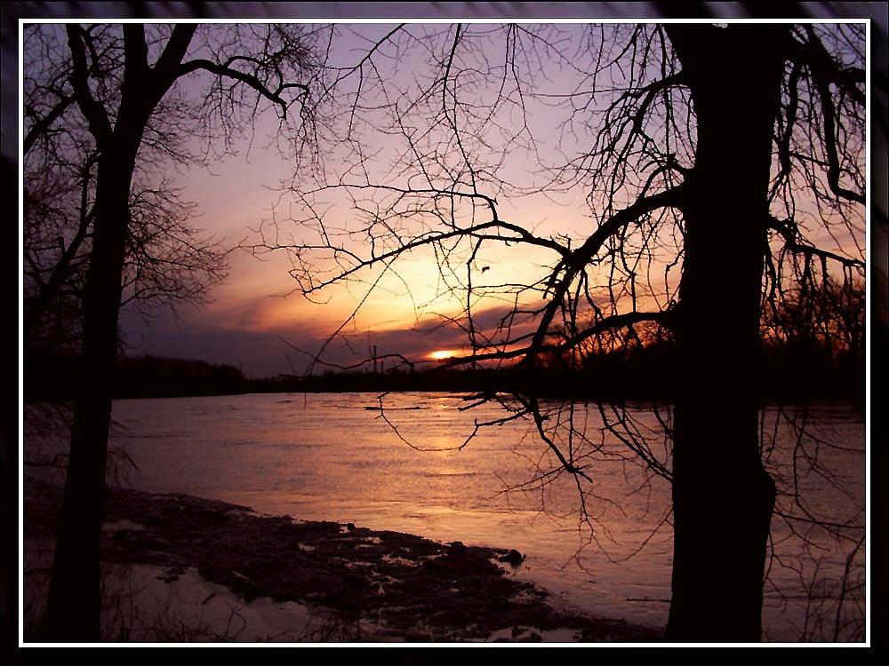 """photo """"A beautiful sunset"""" tags: landscape, nature, sunset"""