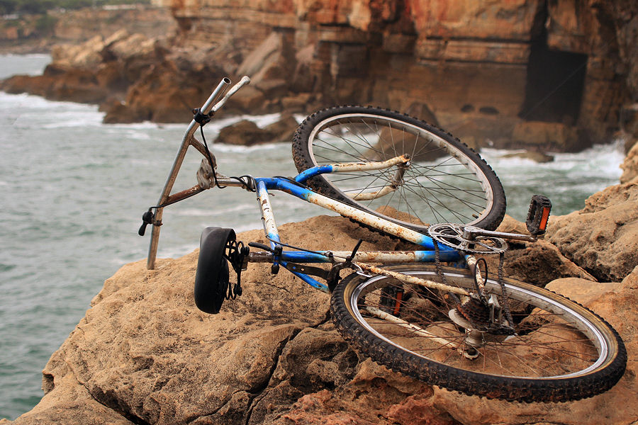 """photo """"The Portuguese love bikes - THE END"""" tags: travel, Europe"""