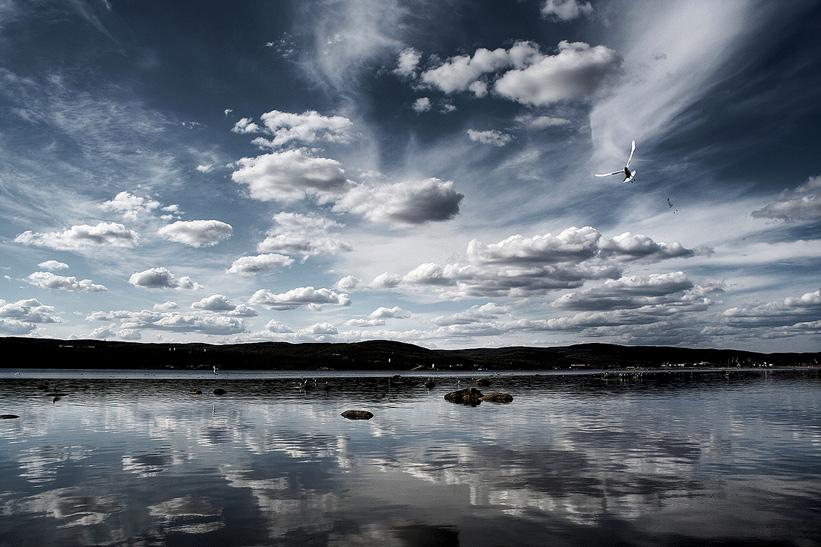 "photo ""Dance"" tags: landscape, clouds, water"