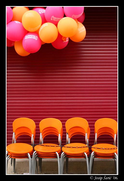 """фото """"Balloons & Chairs"""" метки: путешествия, Европа"""