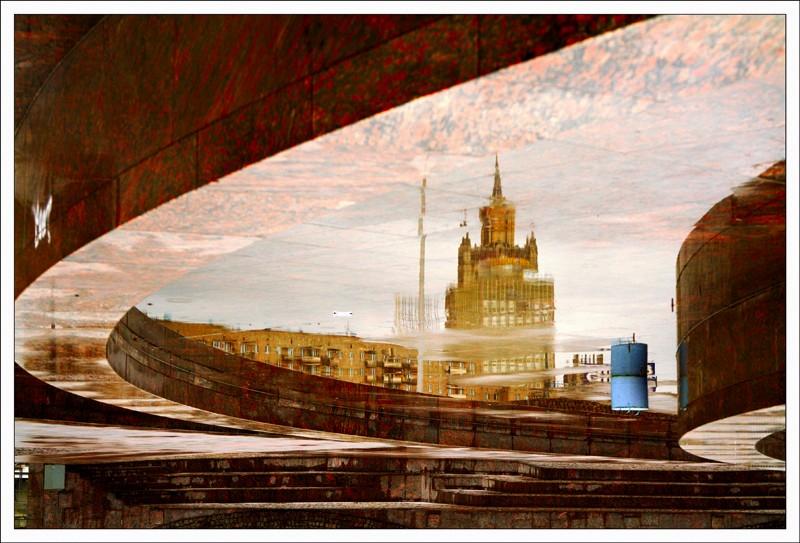 """фото """"Площадь Европы: Министерство иностранных дел."""" метки: город,"""