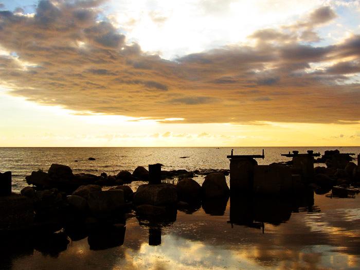 """фото """"Золото Балтики 2"""" метки: пейзаж, закат"""