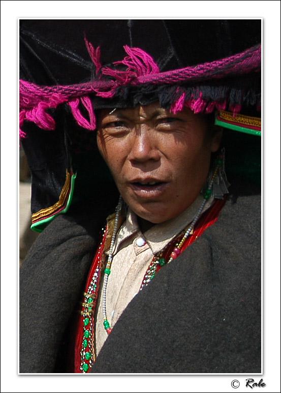 """photo """"China minority"""" tags: portrait,"""