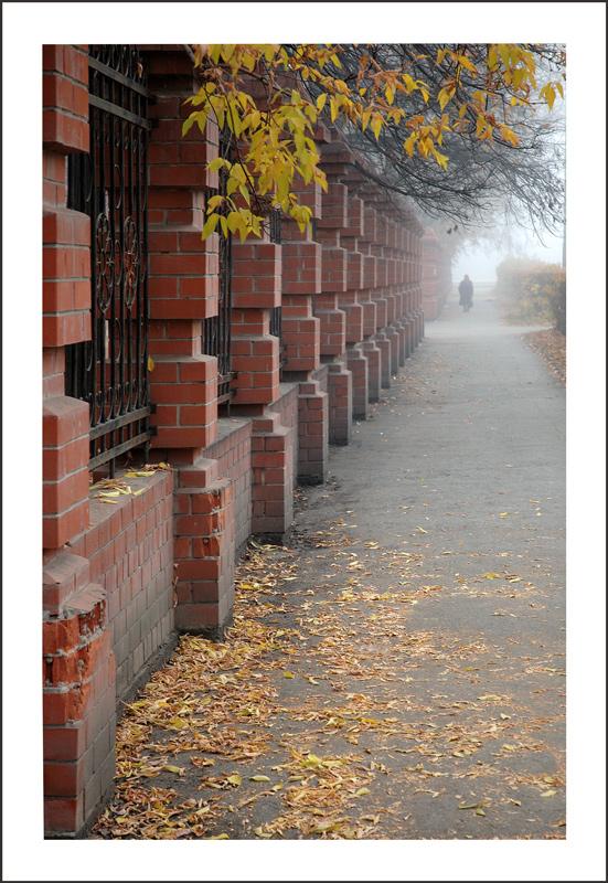 """фото """"Тихая поступь осени"""" метки: город, пейзаж, осень"""