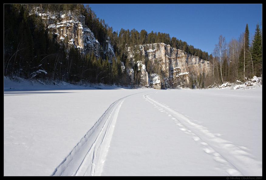 """фото """"Тропинки / 168_0058"""" метки: пейзаж, весна, горы, скалы"""