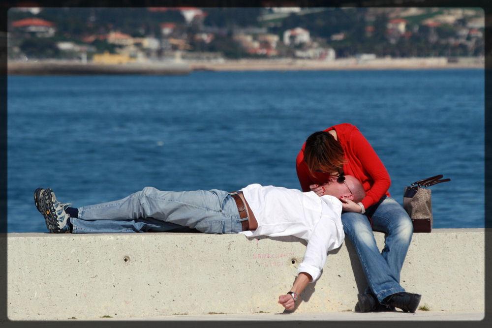 "фото ""Love is... To Kiss on the Nose"" метки: портрет,"