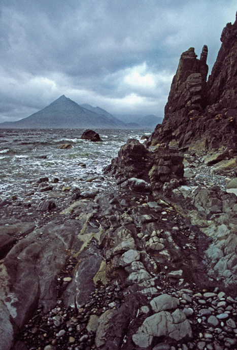 """photo """"The Black Cuillin of Skye"""" tags: landscape, travel, Europe"""