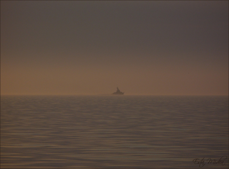 """фото """"Кораблик"""" метки: пейзаж, вода, закат"""