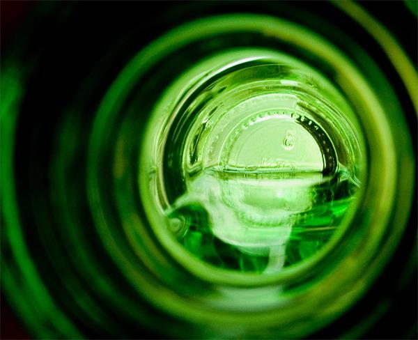 """фото """"Зелено-бутылочная мета-абстракция"""" метки: абстракция, макро и крупный план,"""