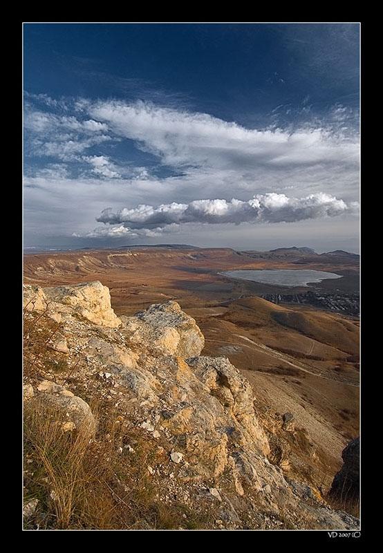 "photo ""The Edge"" tags: landscape, winter"