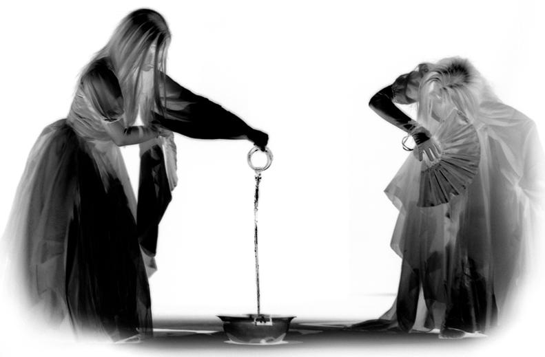 """фото """"...ethereal..."""" метки: портрет, черно-белые, женщина"""