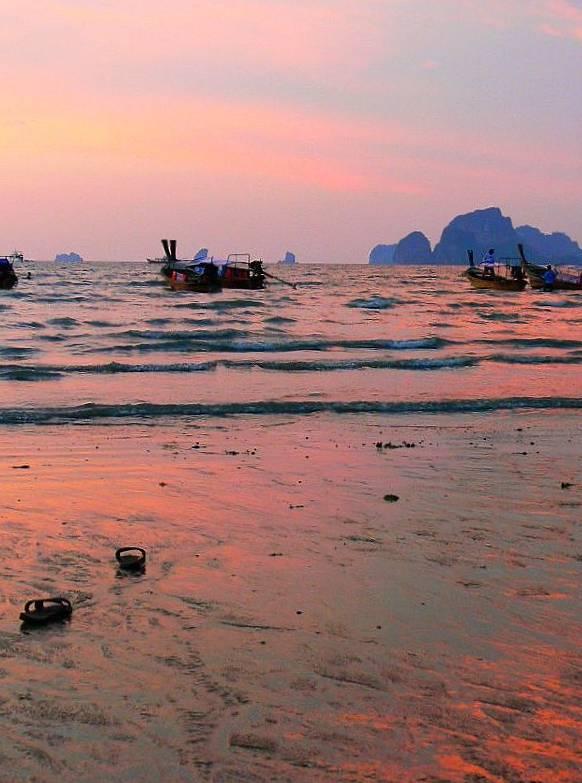 """фото """"Закат в  Ао Нанг"""" метки: пейзаж, закат"""