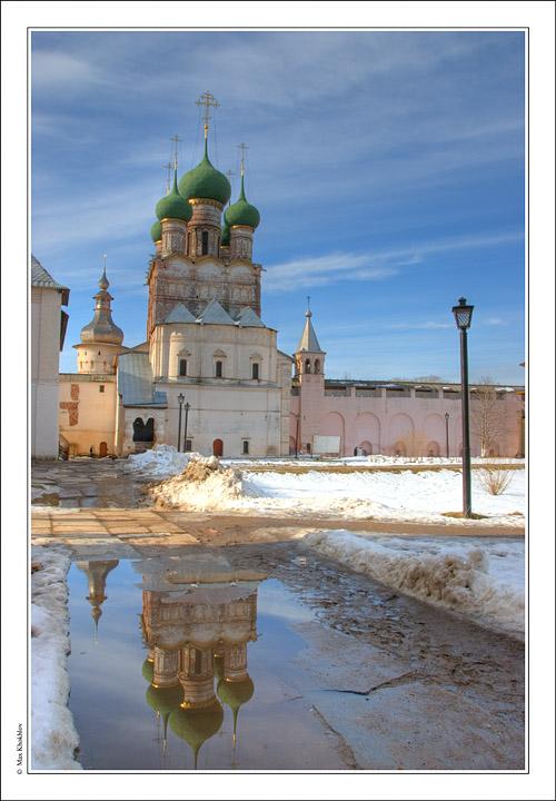 """фото """"Ростовский Кремль (3). Церковь Иоанна Богослова...."""" метки: путешествия,"""