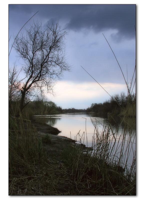 """фото """"рыбные места"""" метки: пейзаж, вода, закат"""