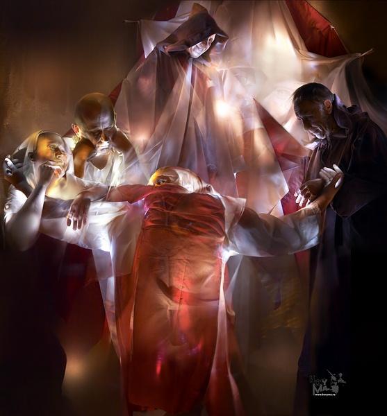 "photo """"False witness…"" (""The schedule of light - Contemplation..."")"" tags: genre, digital art,"